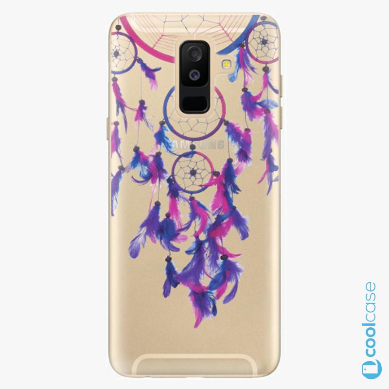 Silikonové pouzdro iSaprio - Dreamcatcher 01 na mobil Samsung Galaxy A6 Plus