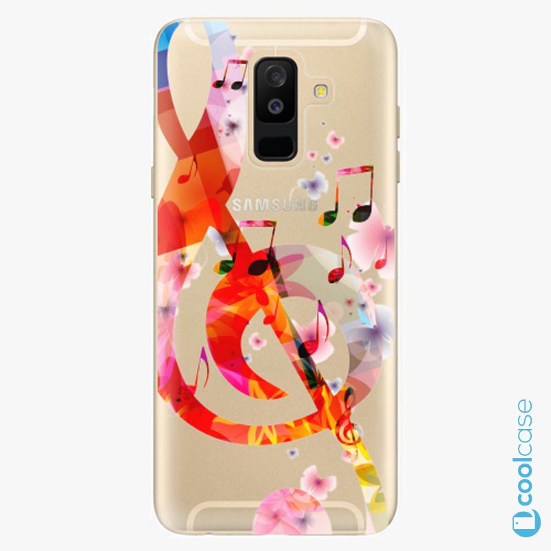 Silikonové pouzdro iSaprio - Music 01 na mobil Samsung Galaxy A6 Plus