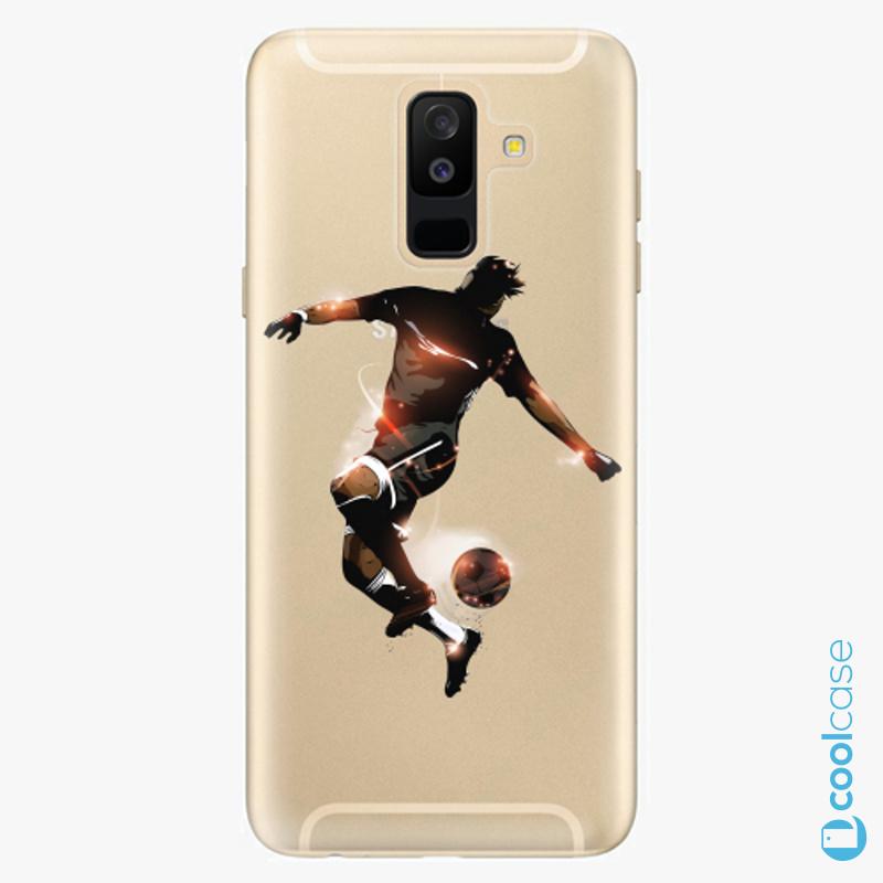 Silikonové pouzdro iSaprio - Fotball 01 na mobil Samsung Galaxy A6 Plus