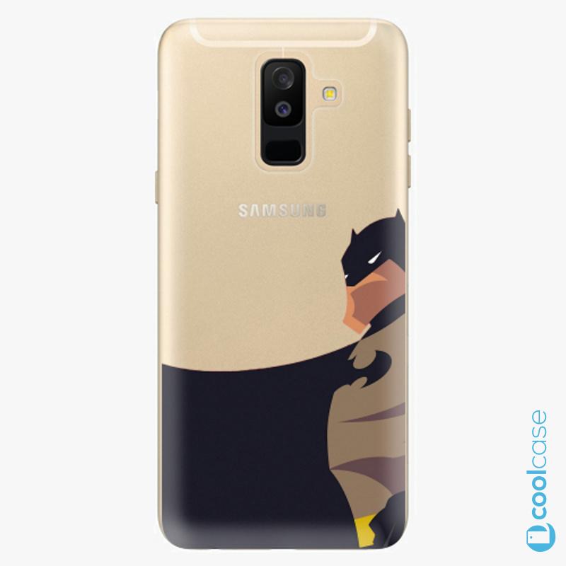 Silikonové pouzdro iSaprio - BaT Comics na mobil Samsung Galaxy A6 Plus