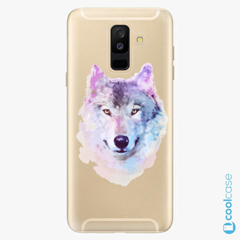 Silikonové pouzdro iSaprio - Wolf 01 na mobil Samsung Galaxy A6 Plus