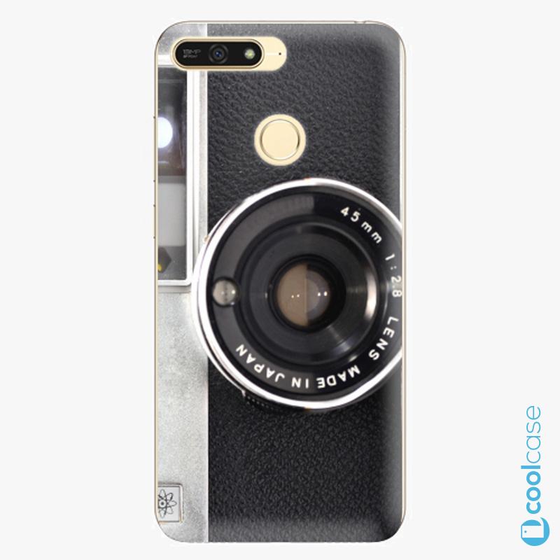 Silikonové pouzdro iSaprio - Vintage Camera 01 na mobil Honor 7A