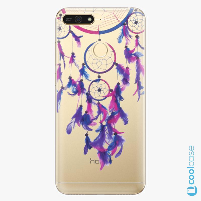 Silikonové pouzdro iSaprio - Dreamcatcher 01 na mobil Honor 7A