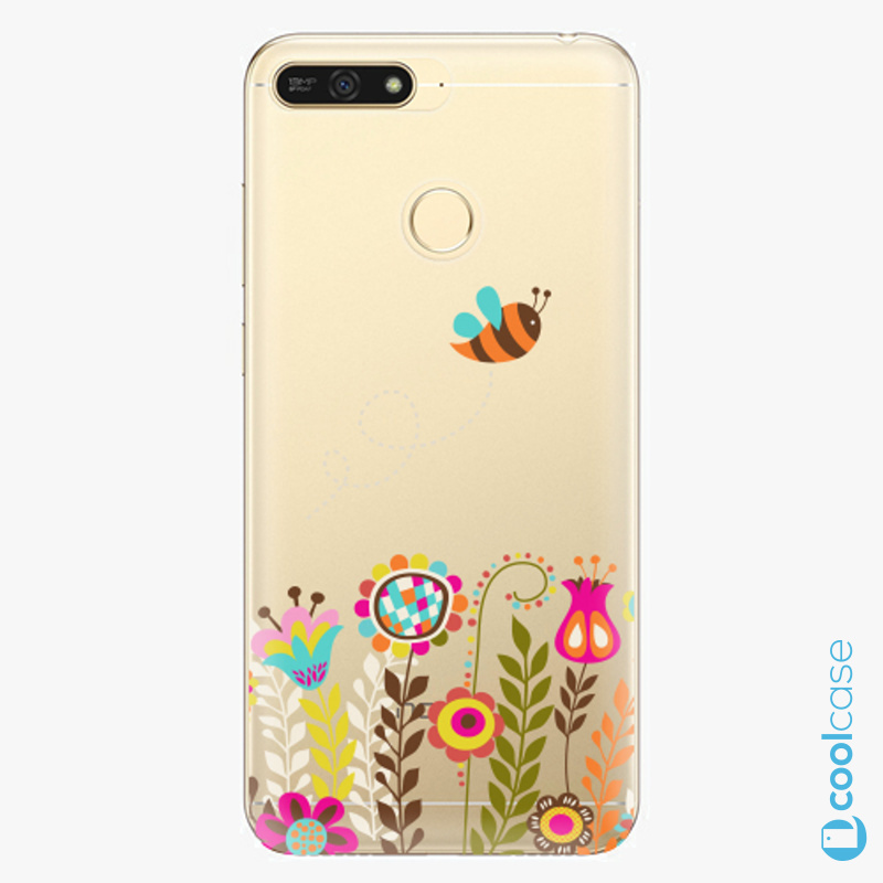 Silikonové pouzdro iSaprio - Bee 01 na mobil Honor 7A