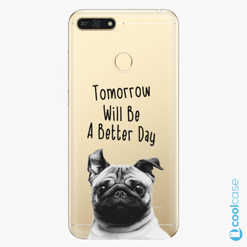 Silikonové pouzdro iSaprio - Better Day 01 na mobil Honor 7A