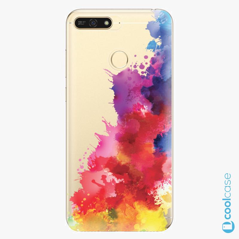 Silikonové pouzdro iSaprio - Color Splash 01 na mobil Honor 7A