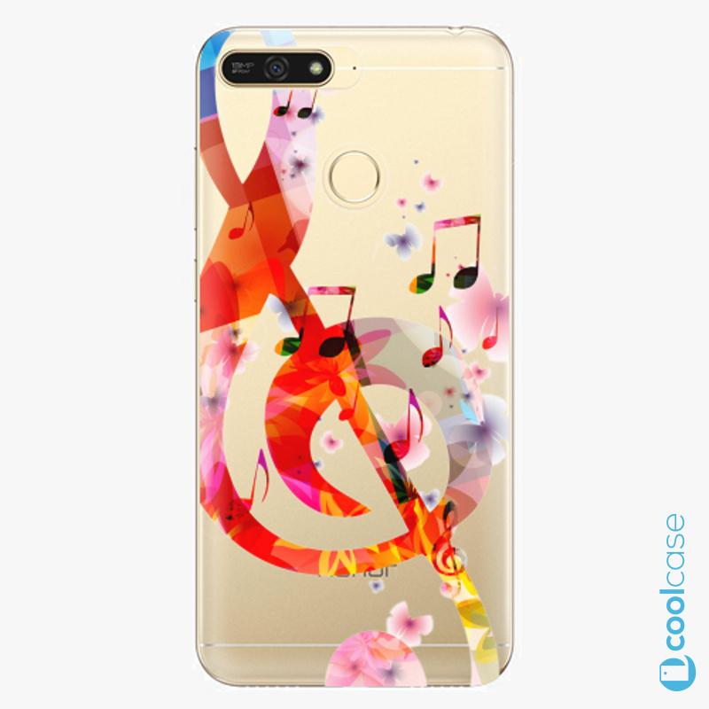 Silikonové pouzdro iSaprio - Music 01 na mobil Honor 7A