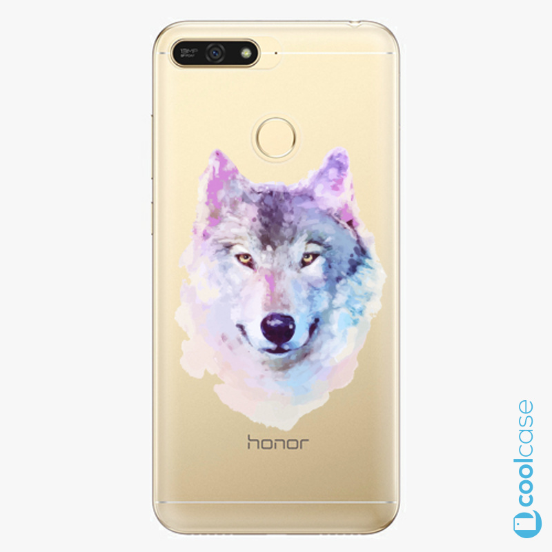 Silikonové pouzdro iSaprio - Wolf 01 na mobil Honor 7A