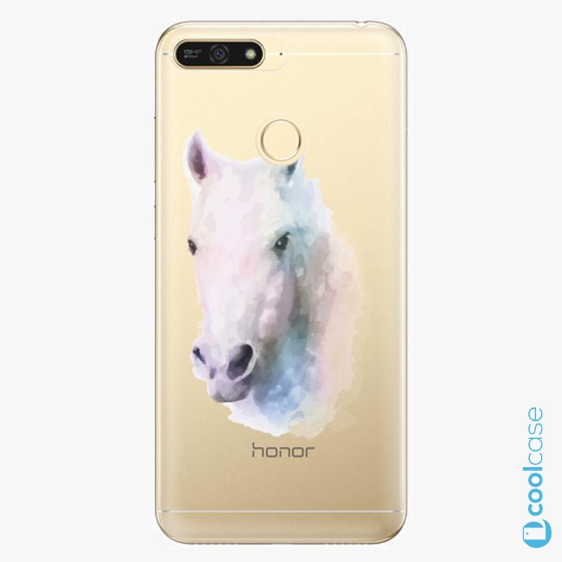 Silikonové pouzdro iSaprio - Horse 01 na mobil Honor 7A
