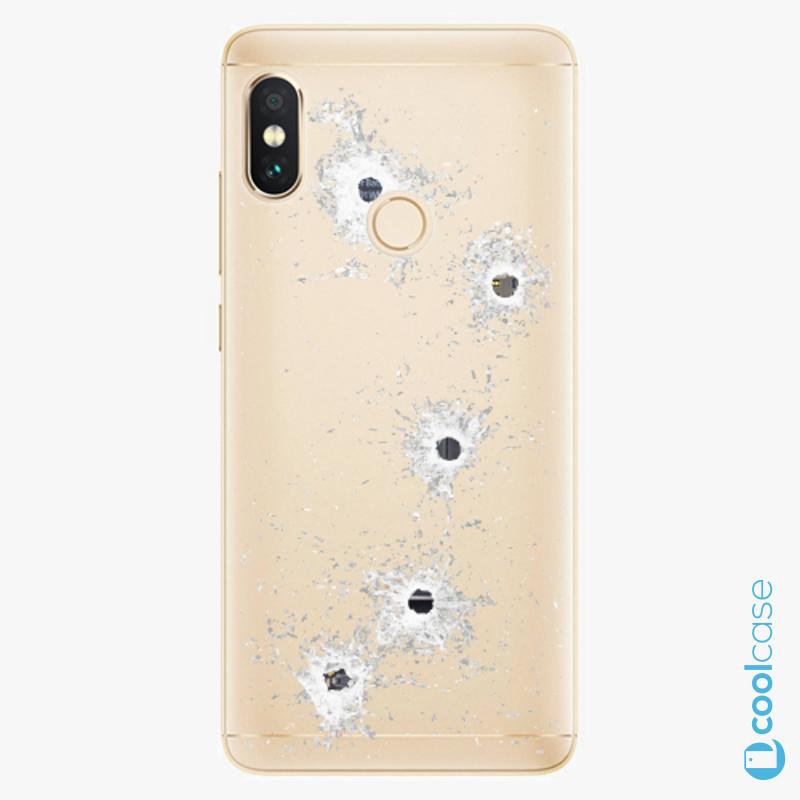 Silikonové pouzdro iSaprio - Gunshots na mobil Xiaomi Redmi Note 5