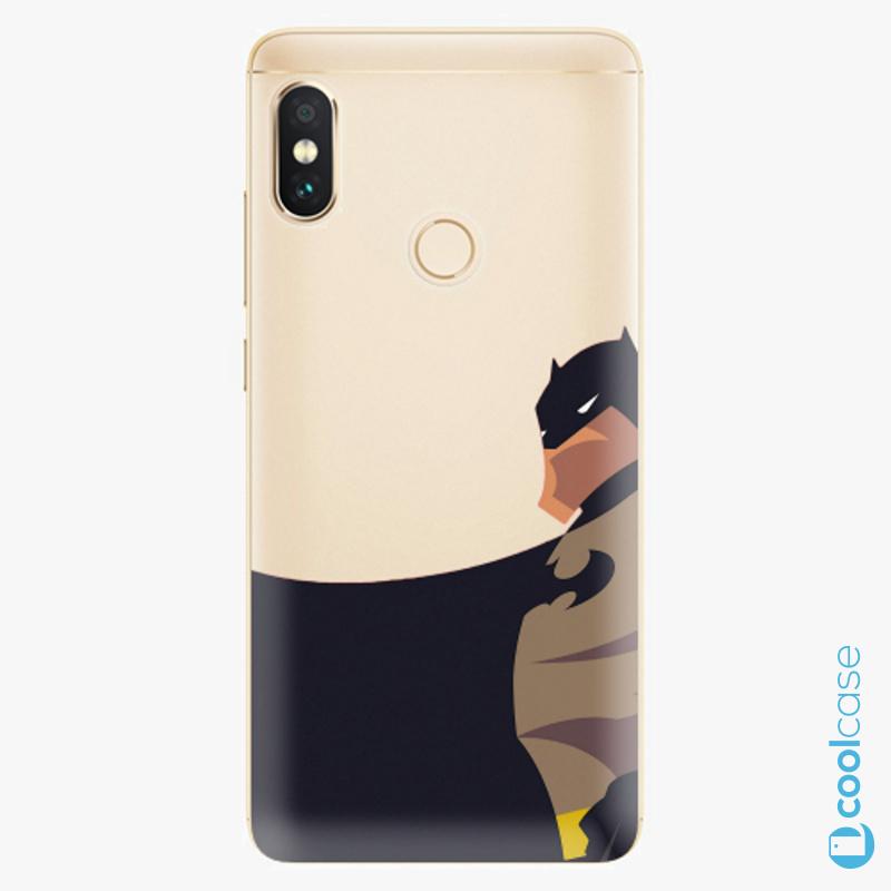 Silikonové pouzdro iSaprio - BaT Comics na mobil Xiaomi Redmi Note 5