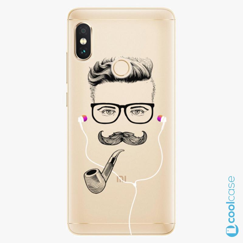 Silikonové pouzdro iSaprio - Man With Headphones 01 na mobil Xiaomi Redmi Note 5