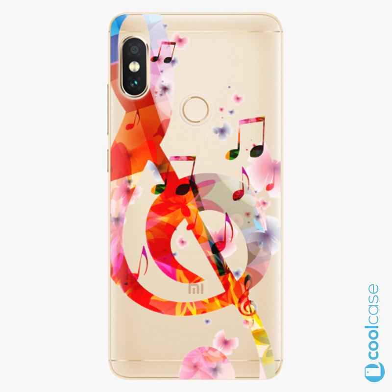 Silikonové pouzdro iSaprio - Music 01 na mobil Xiaomi Redmi Note 5