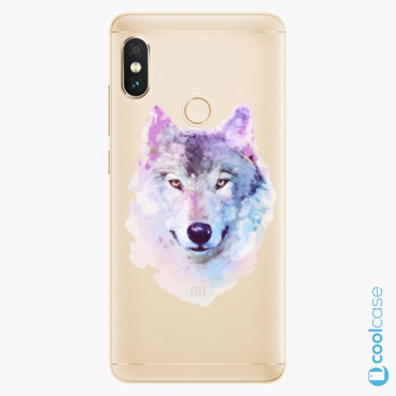 Silikonové pouzdro iSaprio - Wolf 01 na mobil Xiaomi Redmi Note 5