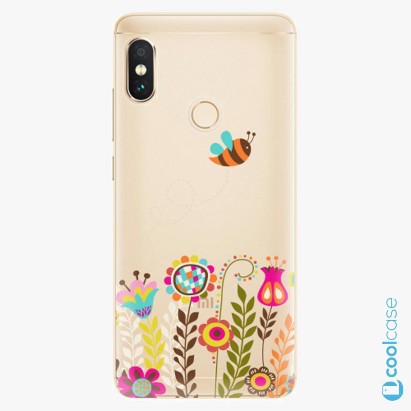 Silikonové pouzdro iSaprio - Bee 01 na mobil Xiaomi Redmi Note 5