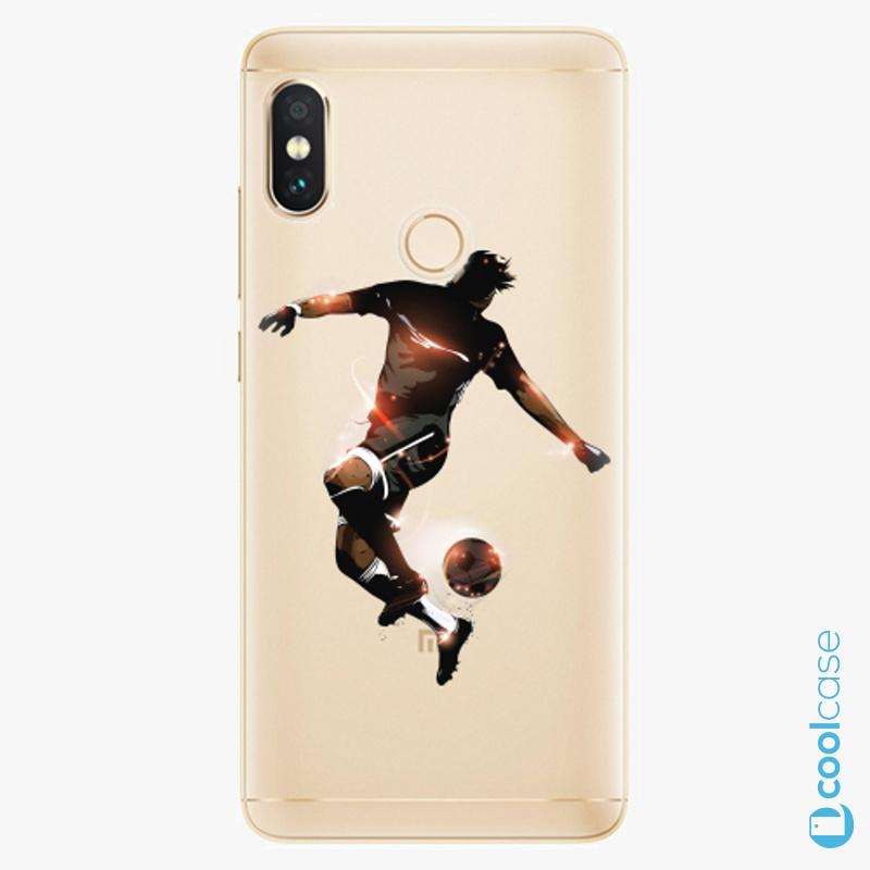 Silikonové pouzdro iSaprio - Fotball 01 na mobil Xiaomi Redmi Note 5