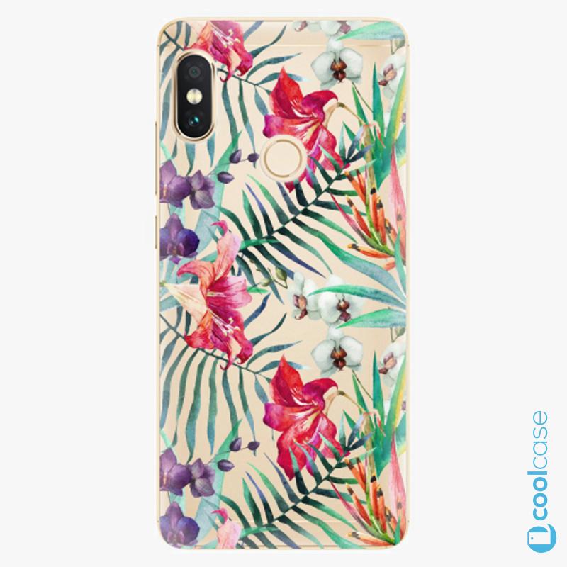 Silikonové pouzdro iSaprio - Flower Pattern 03 na mobil Xiaomi Redmi Note 5