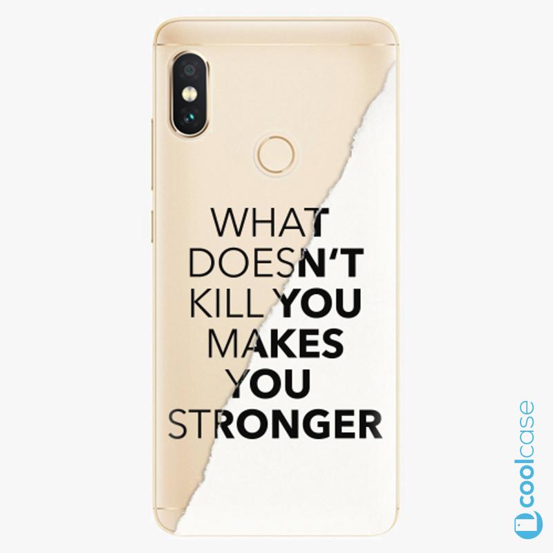 Silikonové pouzdro iSaprio - Makes You Stronger na mobil Xiaomi Redmi Note 5