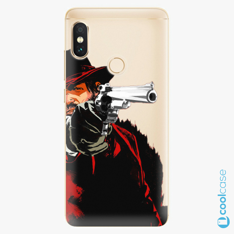 Silikonové pouzdro iSaprio - Red Sheriff na mobil Xiaomi Redmi Note 5