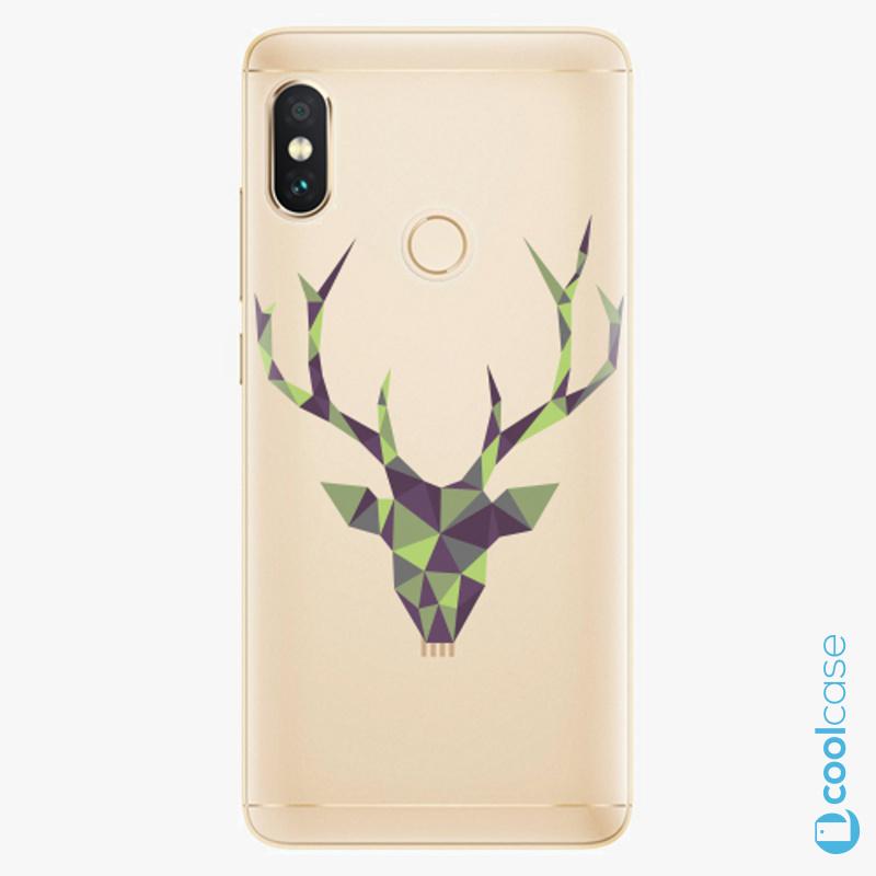 Silikonové pouzdro iSaprio - Deer Green na mobil Xiaomi Redmi Note 5