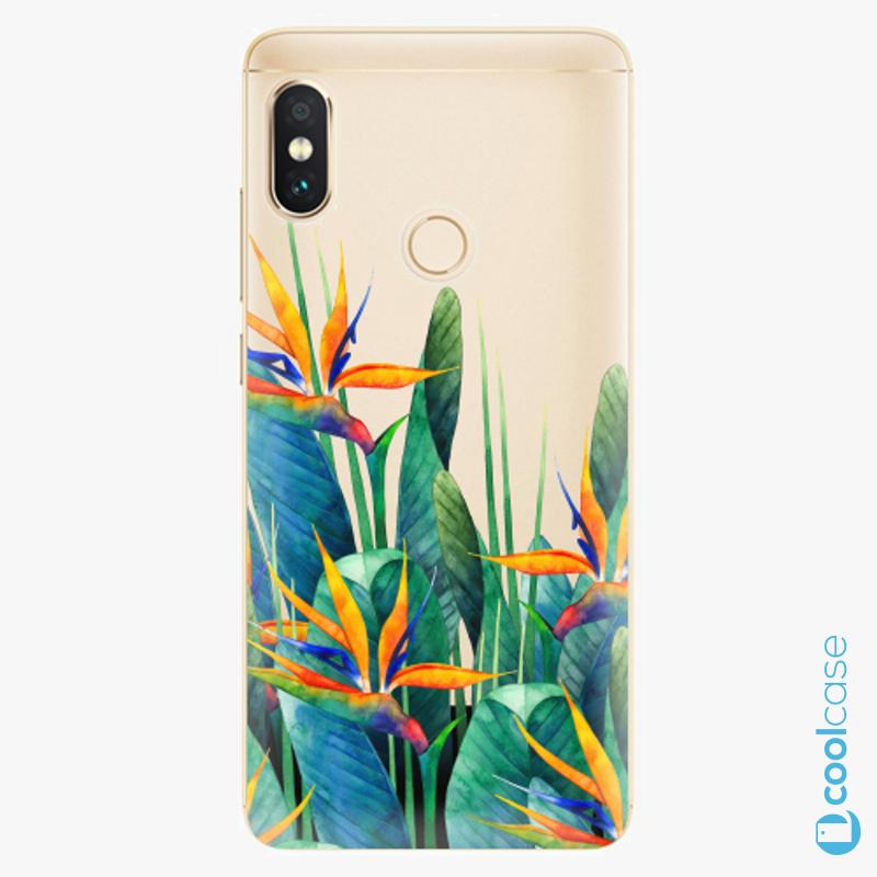 Silikonové pouzdro iSaprio - Exotic Flowers na mobil Xiaomi Redmi Note 5