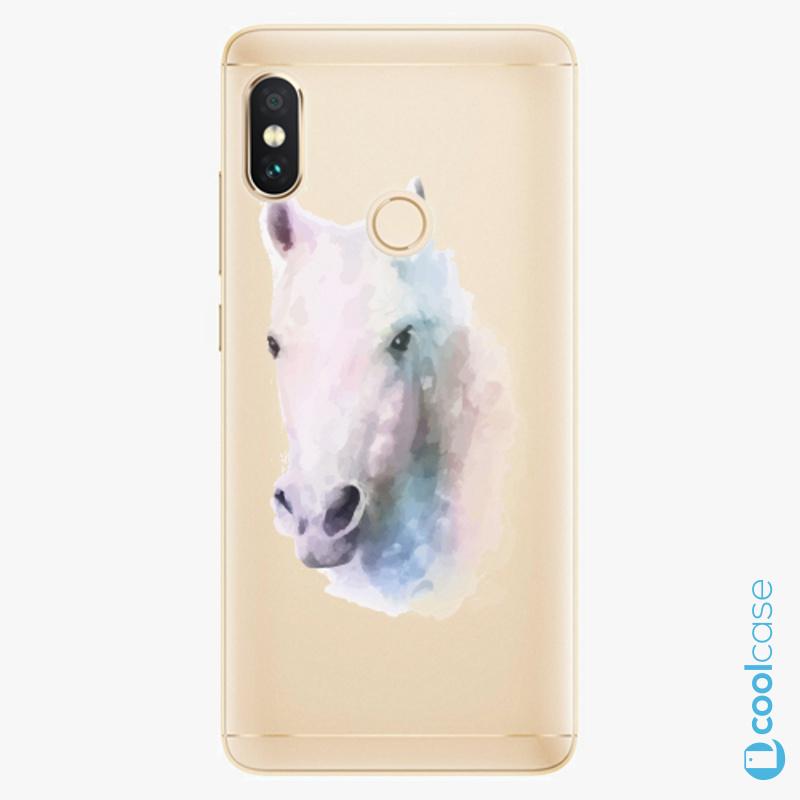 Silikonové pouzdro iSaprio - Horse 01 na mobil Xiaomi Redmi Note 5