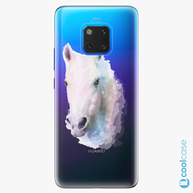 Silikonové pouzdro iSaprio - Horse 01 na mobil Huawei Mate 20 Pro