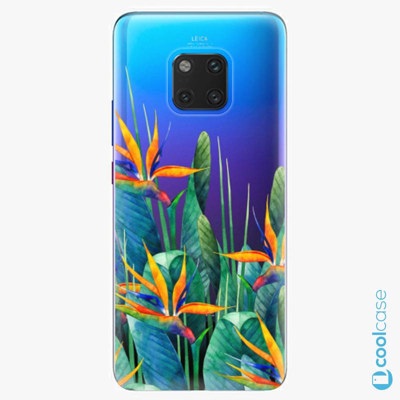 Silikonové pouzdro iSaprio - Exotic Flowers na mobil Huawei Mate 20 Pro