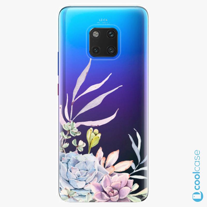 Silikonové pouzdro iSaprio - Succulent 01 na mobil Huawei Mate 20 Pro