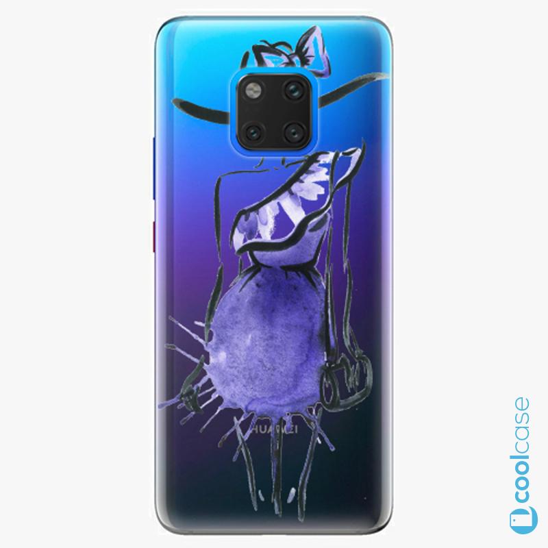 Silikonové pouzdro iSaprio - Fashion 02 na mobil Huawei Mate 20 Pro