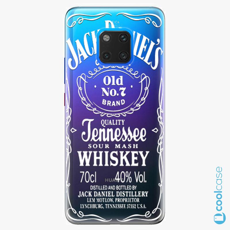 Silikonové pouzdro iSaprio - Transparent White Jack na mobil Huawei Mate 20 Pro