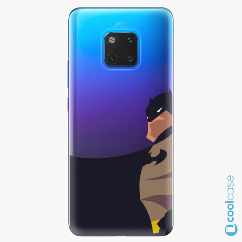 Silikonové pouzdro iSaprio - BaT Comics na mobil Huawei Mate 20 Pro