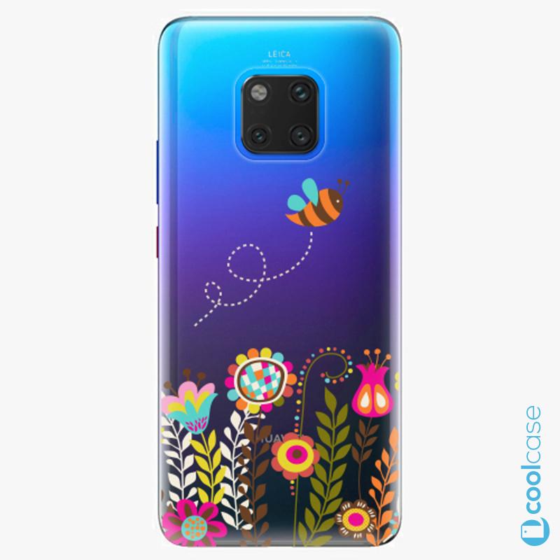 Silikonové pouzdro iSaprio - Bee 01 na mobil Huawei Mate 20 Pro