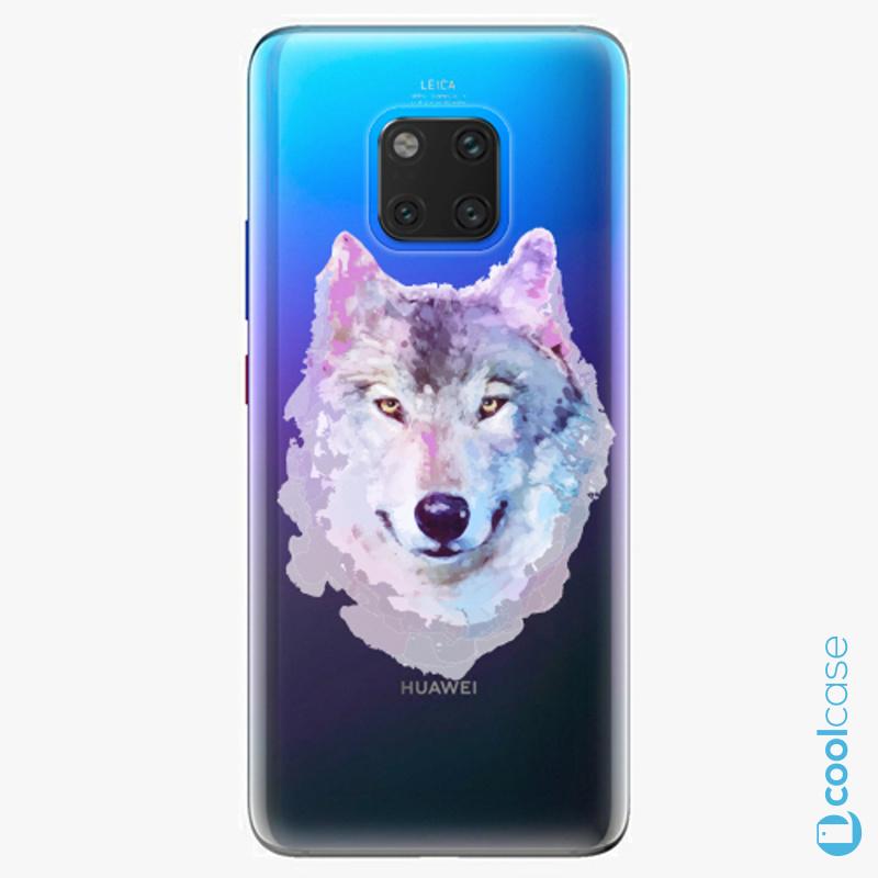 Silikonové pouzdro iSaprio - Wolf 01 na mobil Huawei Mate 20 Pro