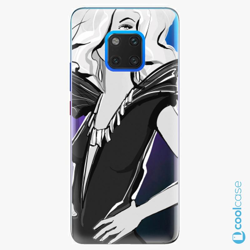 Silikonové pouzdro iSaprio - Fashion 01 na mobil Huawei Mate 20 Pro