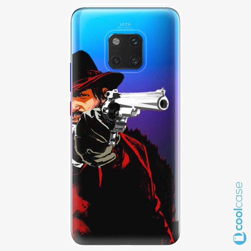 Silikonové pouzdro iSaprio - Red Sheriff na mobil Huawei Mate 20 Pro