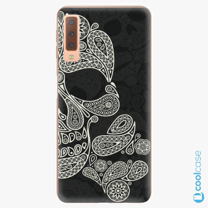 Silikonové pouzdro iSaprio - Mayan Skull na mobil Samsung Galaxy A7 (2018)