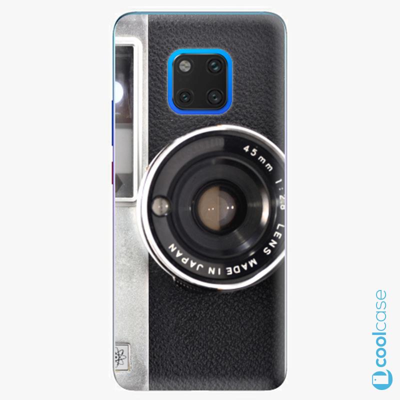 Silikonové pouzdro iSaprio - Vintage Camera 01 na mobil Huawei Mate 20 Pro