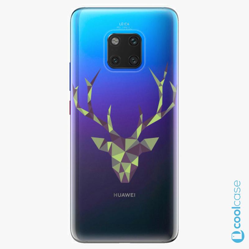 Silikonové pouzdro iSaprio - Deer Green na mobil Huawei Mate 20 Pro
