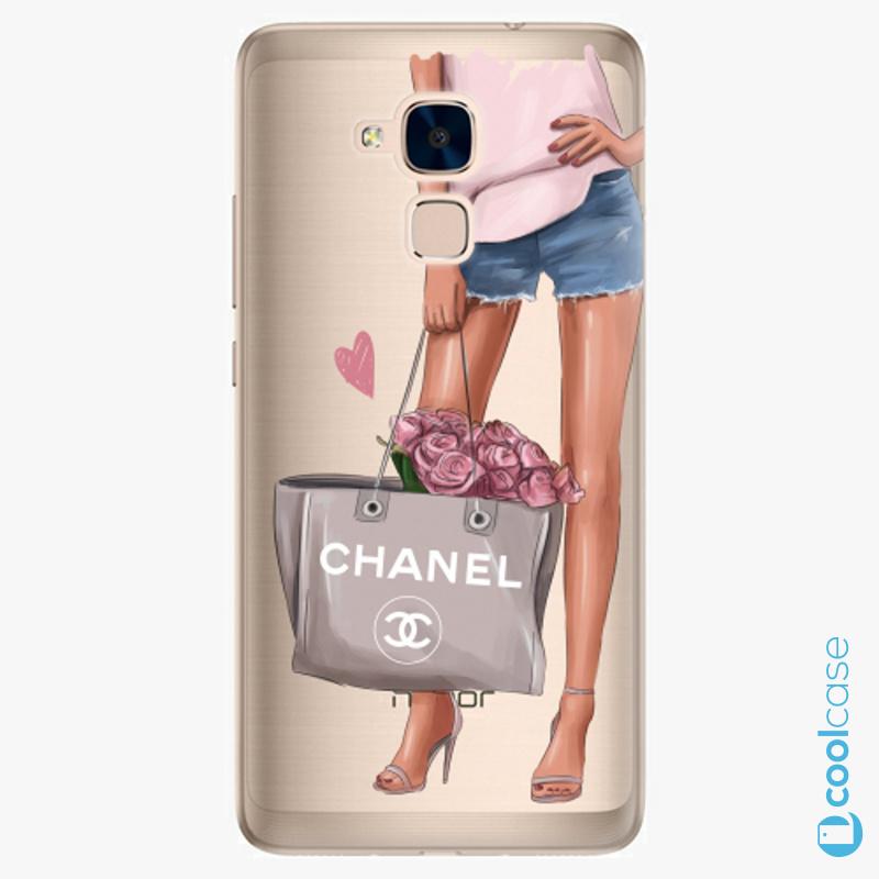 Silikonové pouzdro iSaprio - Fashion Bag na mobil Honor 7 Lite