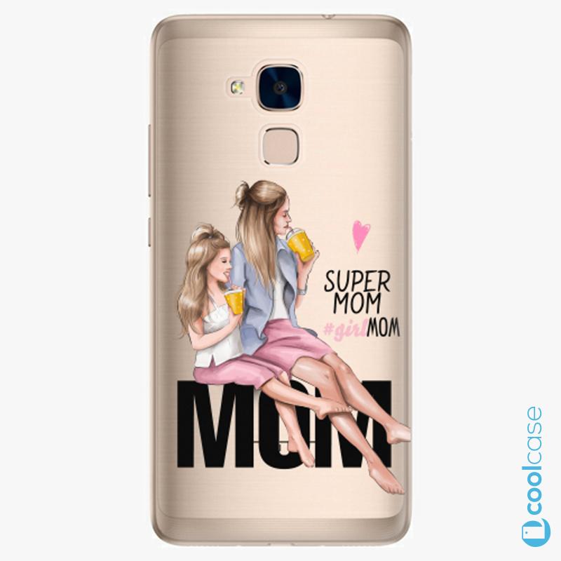 Silikonové pouzdro iSaprio - Milk Shake Blond na mobil Honor 7 Lite