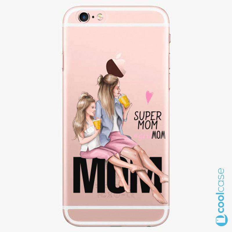 Silikonové pouzdro iSaprio - Milk Shake Blond na mobil Apple iPhone 6 Plus / 6S Plus
