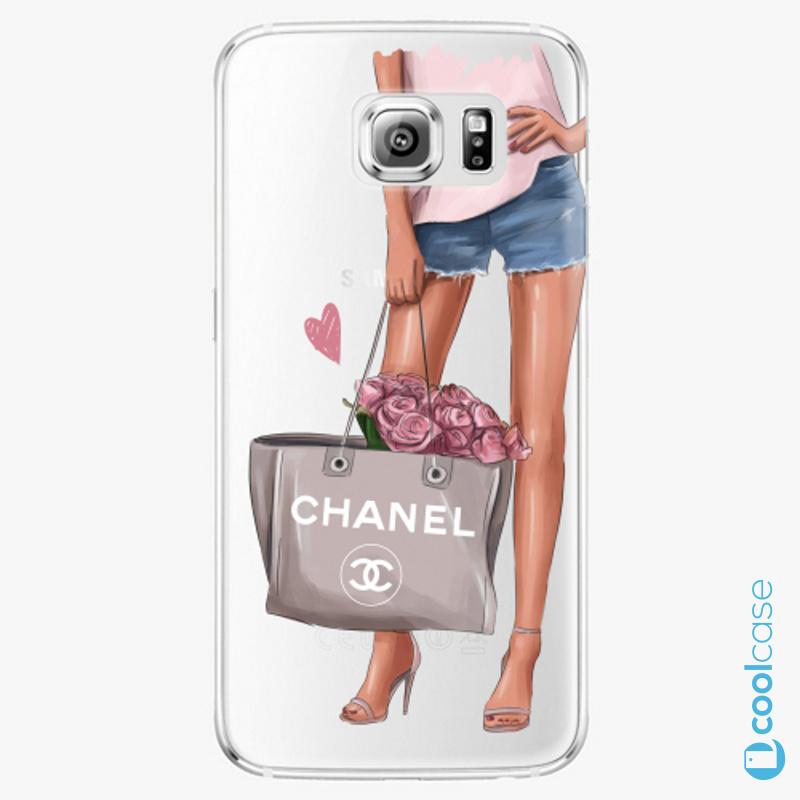 Silikonové pouzdro iSaprio - Fashion Bag na mobil Samsung Galaxy S6 Edge