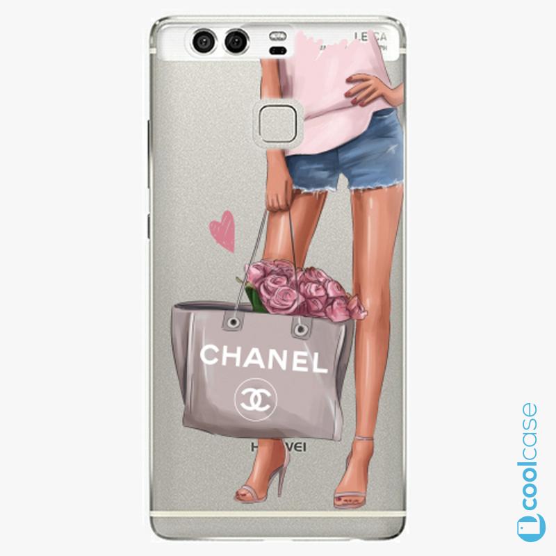 Silikonové pouzdro iSaprio - Fashion Bag na mobil Huawei P9