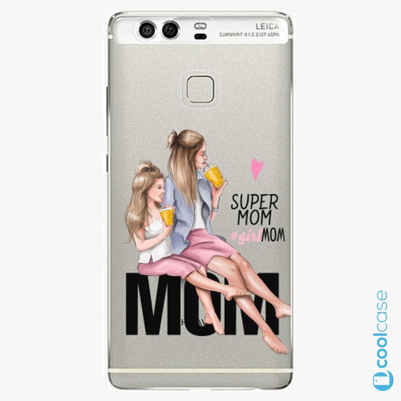 Silikonové pouzdro iSaprio - Milk Shake Blond na mobil Huawei P9
