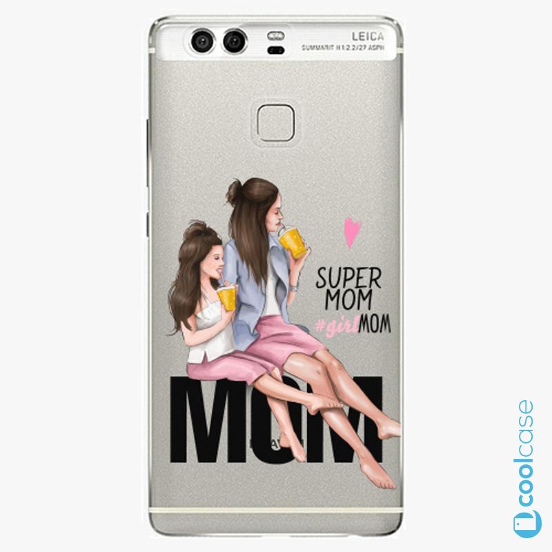 Silikonové pouzdro iSaprio - Milk Shake Brunette na mobil Huawei P9