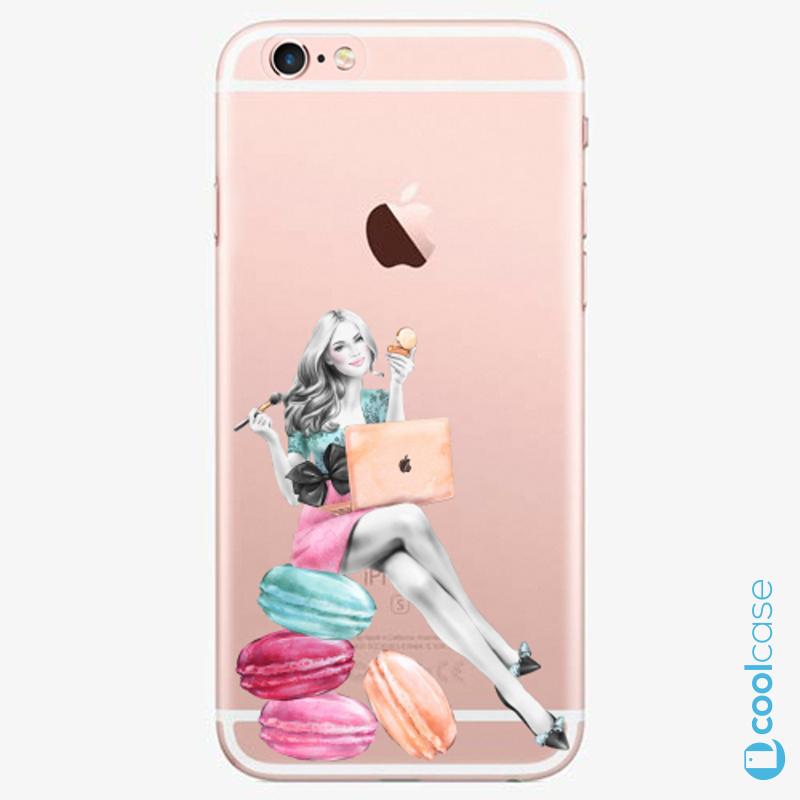 Silikonové pouzdro iSaprio - Girl Boss na mobil Apple iPhone 6 Plus   6S  Plus ( f527bba7940