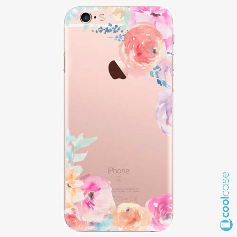 Silikonové pouzdro iSaprio - Flower Brush na mobil Apple iPhone 6 Plus   6S  Plus ( b5594e7c19b