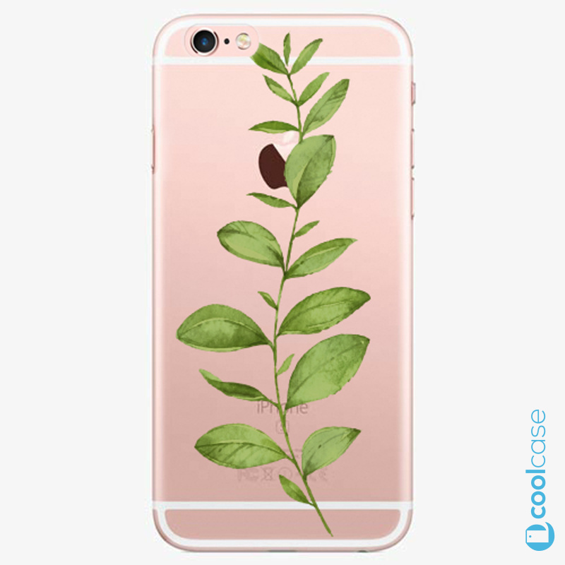 Silikonové pouzdro iSaprio - Green Plant 01 na mobil Apple iPhone 6 Plus / 6S Plus