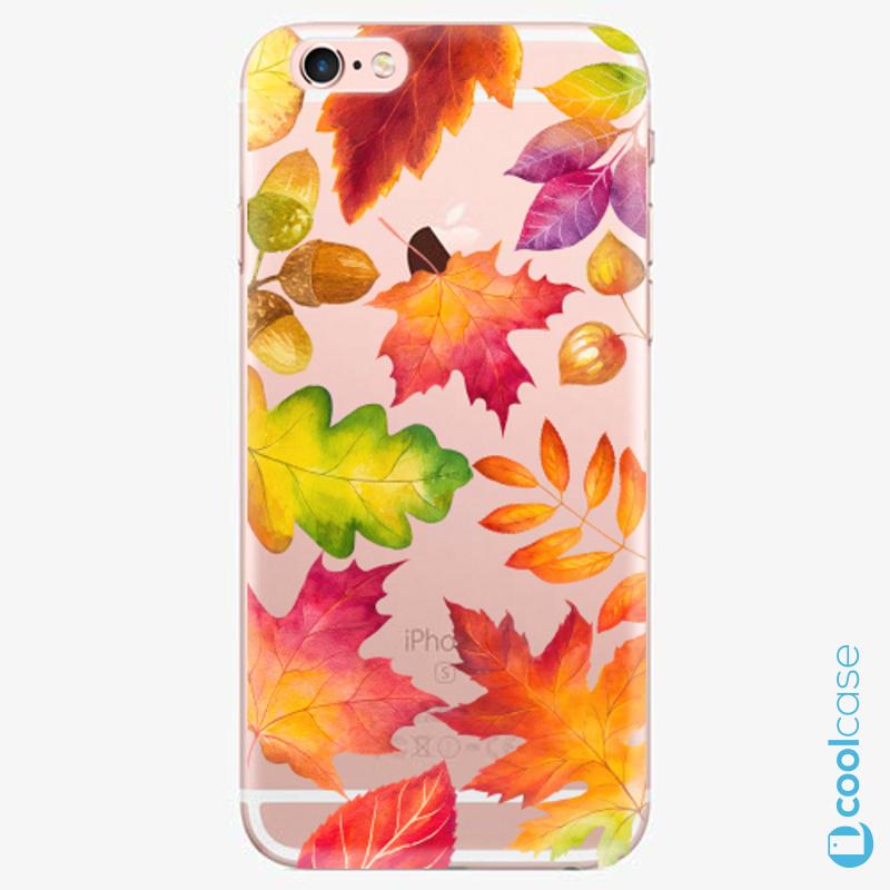 Silikonové pouzdro iSaprio - Autumn Leaves 01 na mobil Apple iPhone 6 Plus / 6S Plus